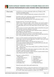 Rozpis Extraligy - Extraliga stolního tenisu