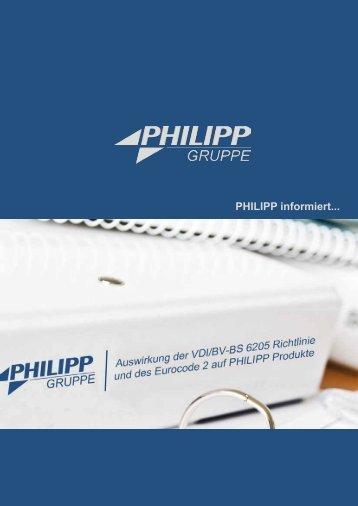 VDI/BV-BS 6205 Richtlinie und Eurocode 2 - PHILIPP Gruppe