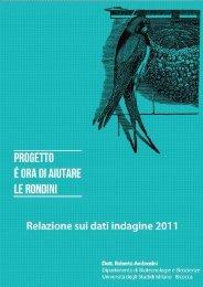 Relazione 2011 - Parco Pineta