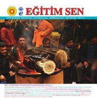 BULTEN OCAK 2010.indd - Eğitim ve Bilim Emekçileri Sendikası ...