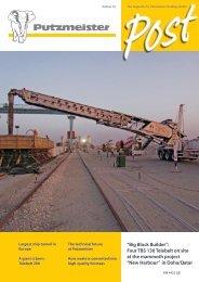 """New Harbour"" in Doha/Qatar - Putzmeister Holding GmbH"