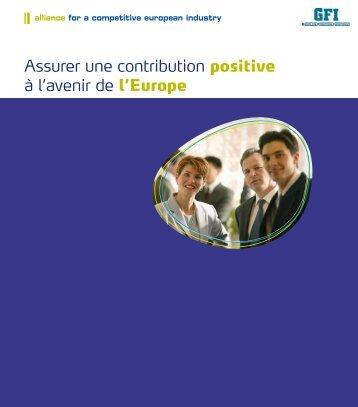 Assurer une contribution positive à l'avenir de l'Europe - Cembureau