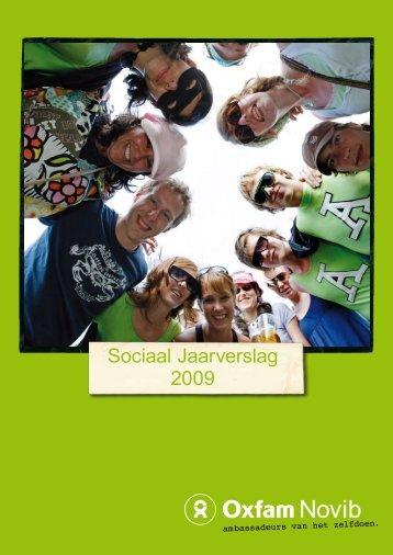 Sociaal Jaarverslag 2009 - Oxfam Novib
