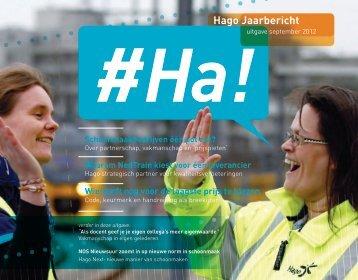 Hago Jaarbericht - ParallelUniversum.nl