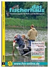 Ausgabe 1 / 2008 - Fischerei-Verein Essen e.V.