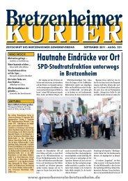 *Bretzenheimer Kurier 09-11.qxd:. - Gewerbeverein Bretzenheim
