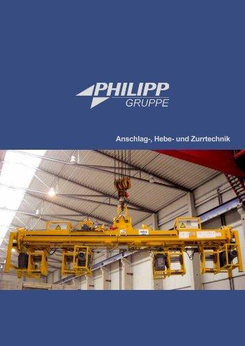 Anschlag-, Hebe- und Zurrtechnik  - PHILIPP Gruppe