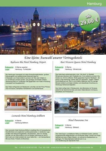 Eine kleine Auswahl unserer Vertragshotels - DCS Touristik