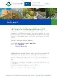 Program - Státní fond životního prostředí