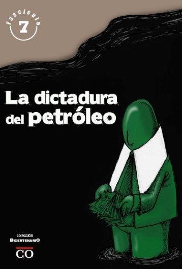 La dictadura del petróleo - MinCI