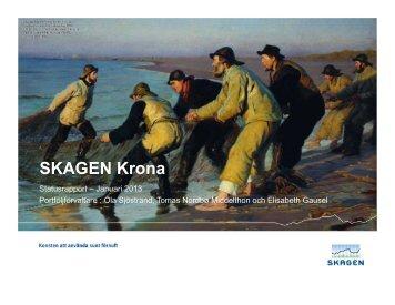 SKAGEN Krona - SKAGEN Fonder