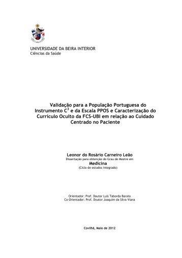 thesis ubi A universidade da beira interior (ubi) é uma instituição de ensino superior português situada na covilhã, portugal.
