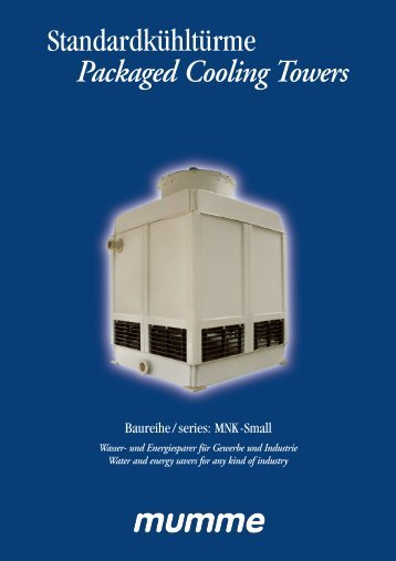 Packaged Cooling Towers - Phoenix Conception