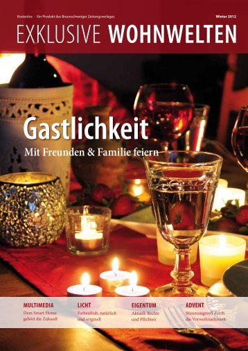 Exklusive Wohnwelten Winter 2012 - Braunschweiger ...