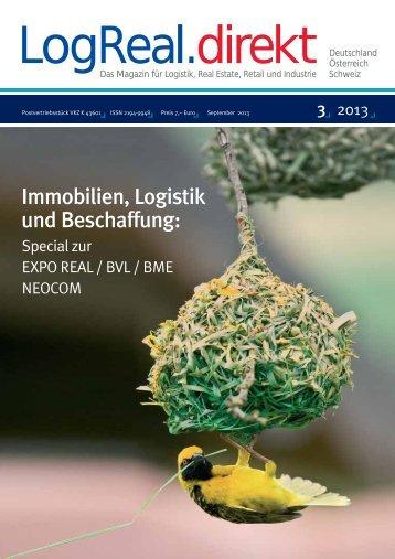 Immobilien, Logistik und Beschaffung: - LogRealCampus