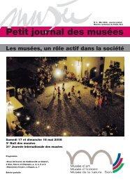 N° 4 - Les musées, un rôle actif dans la société - Musées Valais