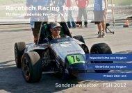 Partnerschaft Energien: Tschechen stellen bohrende ... - racetech