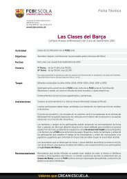 Las Clases del Barça - FC Barcelona