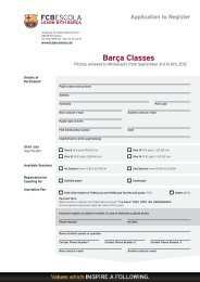 Barça Classes - FC Barcelona