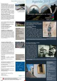 Agenda 2013 - Musées Valais