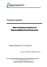Propuesta de capacitación Taller de Primeras Prácticas de ...