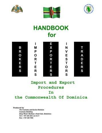 Procedures export import accompanying documentation hr import and export procedures dan ruth tanner publicscrutiny Choice Image