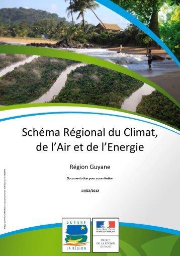 Schéma Régional du Climat, de l'Air et de l'Energie - Région Guyane