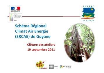 La restitution des ateliers - Région Guyane