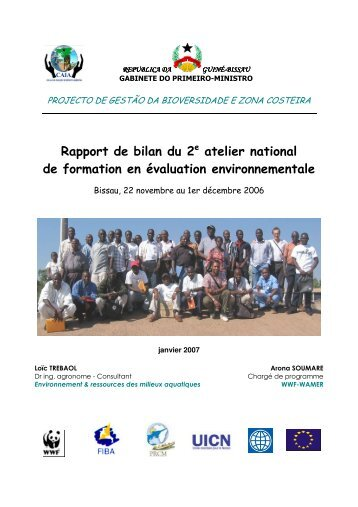Rapport de bilan du 2 atelier national de formation en évaluation ...