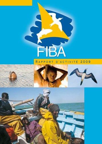 Rapport d'activité 2009 - Fondation Internationale du Banc d'Arguin