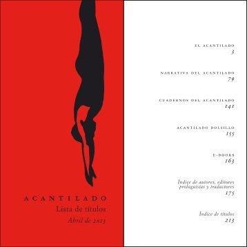 Descargar PDF - Acantilado