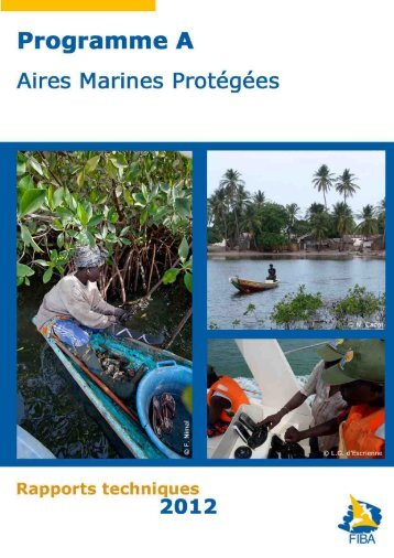 Programme A : Aires Marines Protégées - Fondation Internationale ...