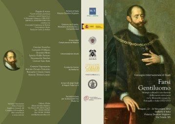 Farsi gentiluomo.ai - Fundación Carlos de Amberes