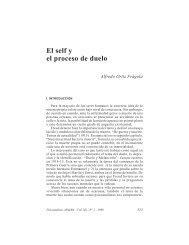 El self y el proceso de duelo - Asociación Psicoanalítica de Buenos ...
