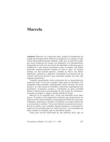 Marcelo - Asociación Psicoanalítica de Buenos Aires