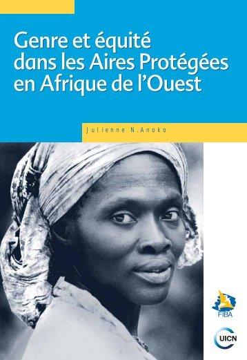 Genre et équité dans les Aires Protégées en Afrique de l'Ouest ...