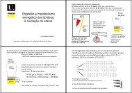 metabolismo dos triacilgliceróis e etanol