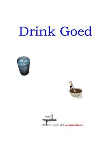 Drink Goed Resepte - Peterjasie