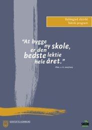 Teknisk program - Bakkegårdsskolen i Gentofte