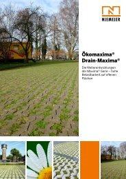 Einzelprospekt - Pflastersteine von Niemeier