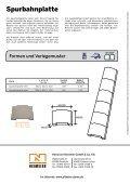 Spurbahn- platte - Pflastersteine von Niemeier - Seite 2