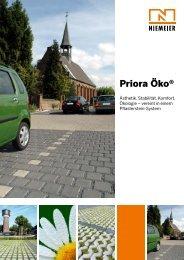 Priora Öko® - Pflastersteine von Niemeier