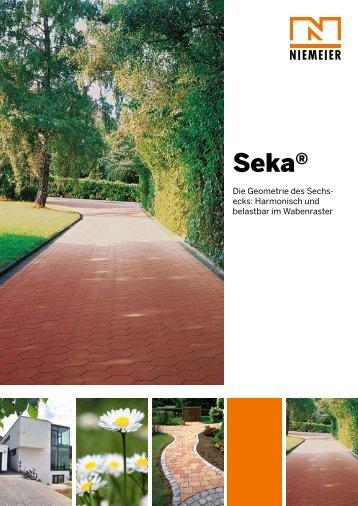 Seka® - Pflastersteine von Niemeier