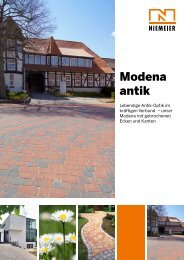 Modena antik - Pflastersteine von Niemeier