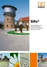 Sifu® - Pflastersteine von Niemeier