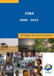 Strat com FIBA AnnexesGC22022008 - Fondation Internationale du ...