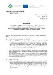 Směrnice OP ŽP