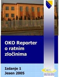OKO Reporter o ratnim zločinima - Odsjek Krivične Odbrane