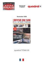 quadral TITAN VII - aurum