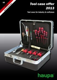 Tool case offer 2013 - Spring Electronics